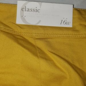 Cato Shorts - Cato plus size yellow shorts New With Tags